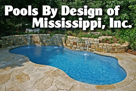 Pools by design of mississippi inc home builders for Pool design jackson ms